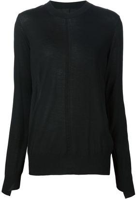 Vera Wang Habotai back jumper $995 thestylecure.com