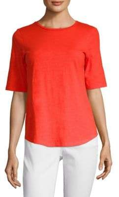 Eileen Fisher Cotton Slub Tee