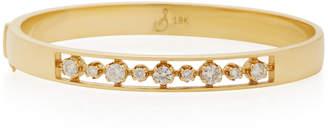 Sorellina 18K Gold Diamond Bangle Bracelet