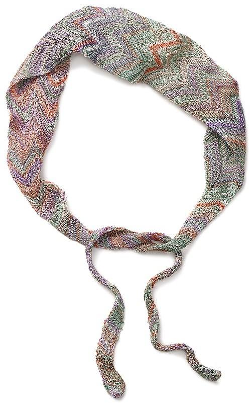 Missoni Pastel Headband