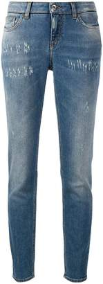 Dolce & Gabbana faded slim jeans