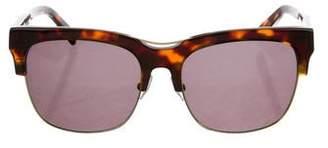 Balmain Tortoiseshell Square Sunglasses