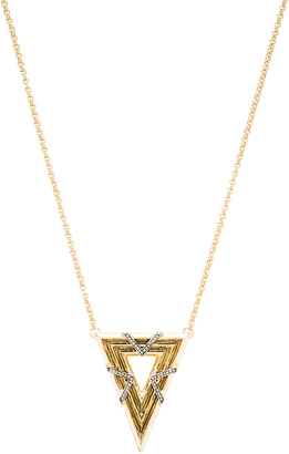 House of Harlow Vintage Muse Pendant Necklace $65 thestylecure.com