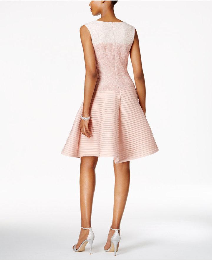Tadashi Shoji Lace Fit & Flare Dress 2