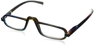 Peepers Unisex-Adult Lagoon 823250 Rectangular Reading Glasses