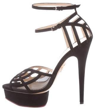 Charlotte Olympia Octavia Platform Sandals w/ Tags