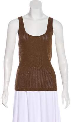 Ralph Lauren Sleeveless Embellished Top