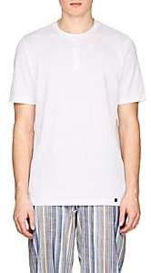 Hanro Men's Night & Day Cotton Henley-White