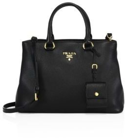 Prada Pebble Leather Tote $1,910 thestylecure.com