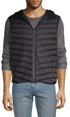 Down and Feather Filled Puffer Vest
