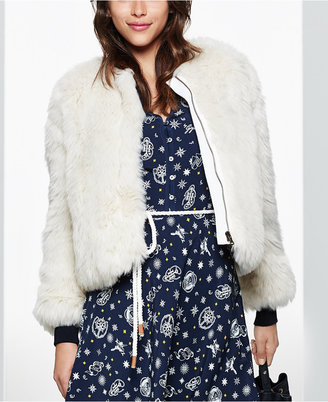 TOMMYXGIGI Faux-Fur Jacket, Only at Macy's $395 thestylecure.com