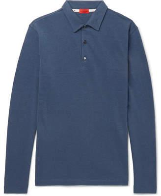 Isaia Cotton-Piqué Polo Shirt
