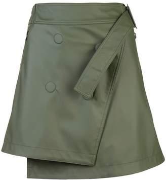 Paco Rabanne asymmetric skirt