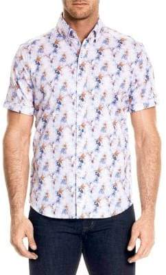 Robert Graham Bodie Button-Front Shirt