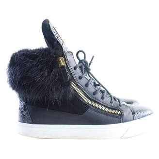 Giuseppe Zanotti Black Leather Boots