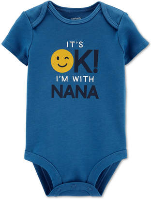 Carter's Baby Boys I'm With Nana Bodysuit