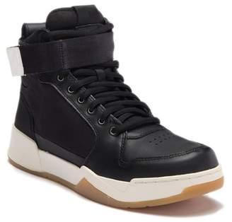 G Star Mesh Leather Hi-Top Sneaker