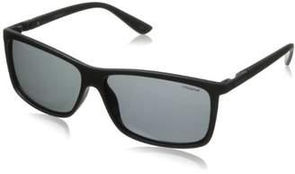 Polaroid men's P8346 Rectangular Sunglasses