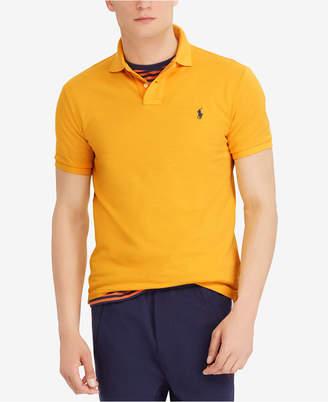 Polo Ralph Lauren Men's Custom Slim Fit Mesh Cotton Polo