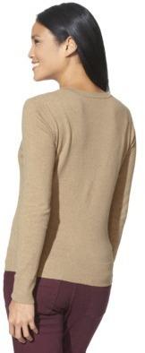 Merona Women's Ultimate Crewneck Cardigan Sweater - Solids