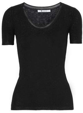 Alexander Wang Ribbed-Knit Top