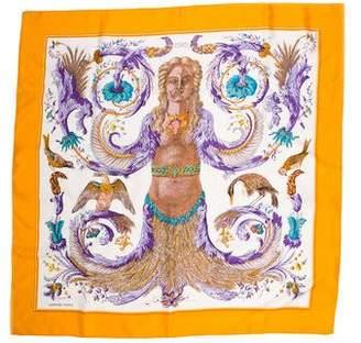 Hermes Ceres Silk Scarf