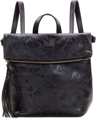 Patricia Nash Luzille Floral Leather Backpack