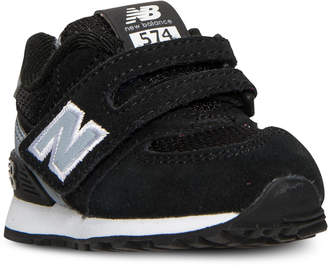 New Balance Toddler Boys' 574 High Visibility Stay-Put Closure Casual Sneakers from Finish Line $44.99 thestylecure.com