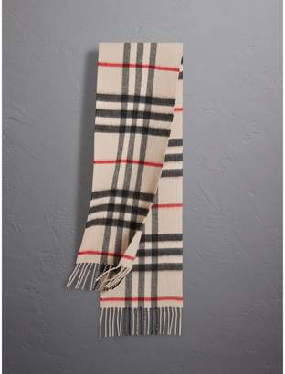 Burberry The Mini Classic Check Cashmere Scarf