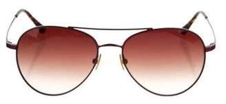 Derek Lam Matilde Aviator Sunglasses