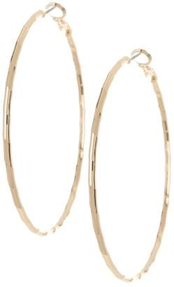 14th & Union Large Textured 57mm Hoop Earrings