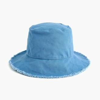 J.Crew Frayed-edge bucket hat