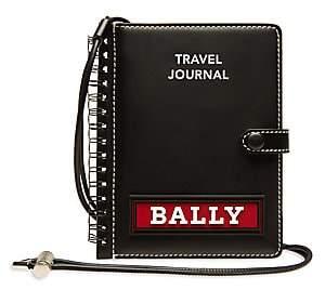 Bally Men's Carnet Leather Passport Holder