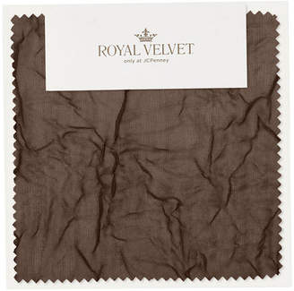 Royal Velvet Crushed Voile Swatch Card