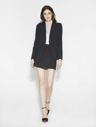 Halston Slim Crepe Suiting Jacket