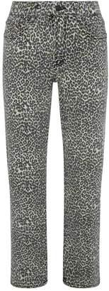 AllSaints Ava Leopard Print Jeans