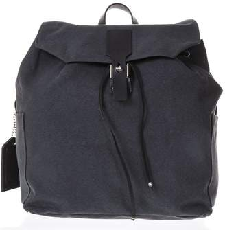 Golden Goose Gray Cotton Canvas Backpack