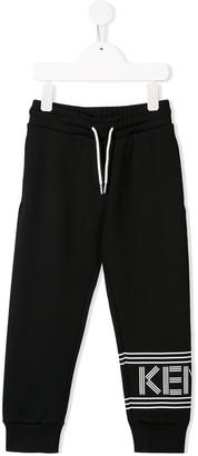 Kenzo printed logo track pants