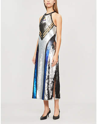 Max Mara Ciriaco sequinned midi dress