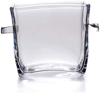 Simon Pearce Woodbury Square Glass Ice Bucket