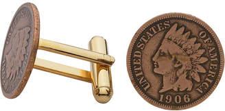 Asstd National Brand Indian Head Penny Cuff Links