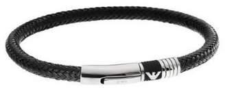 Emporio Armani Men's Black Bracelet EGS162400119, 21 CM