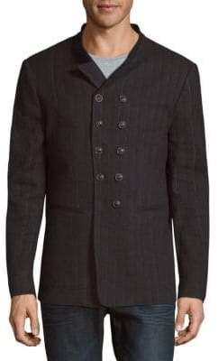John Varvatos Slim-Fit Double-Breasted Jacket