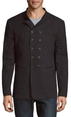 John Varvatos Slim-Fit Double-Breasted Jacket