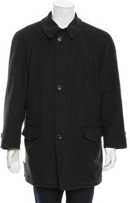 Burberry Wool Car Coat