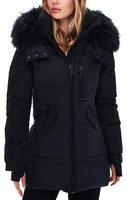 SAM. Cruiser Fur Trim Down Coat