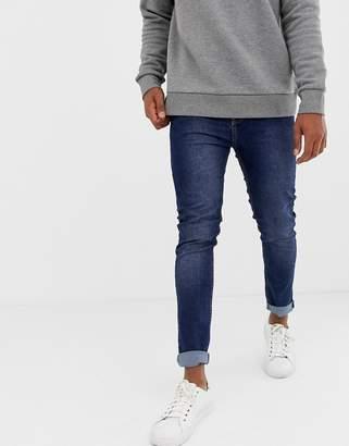 Kiomi skinny jeans in dark blue