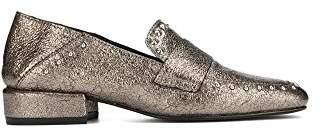 Kenneth Cole New York Women's Bowan 2 Slip Stud Detail Loafer Flat