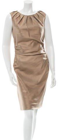 pradaPrada Wool & Silk-Blend Sheath Dress