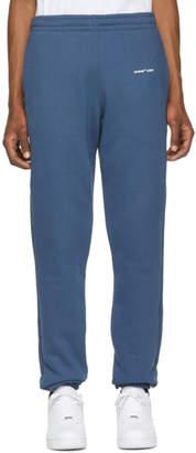 Off-White Off White Blue Logo Lounge Pants